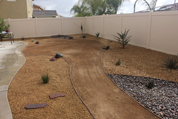 Bowers Landscape Services Xeriscape Project